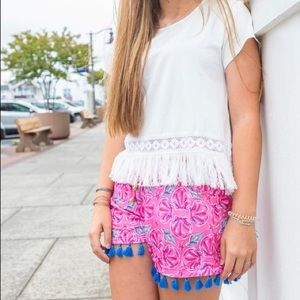 NWT Simply Southern tassel shorts